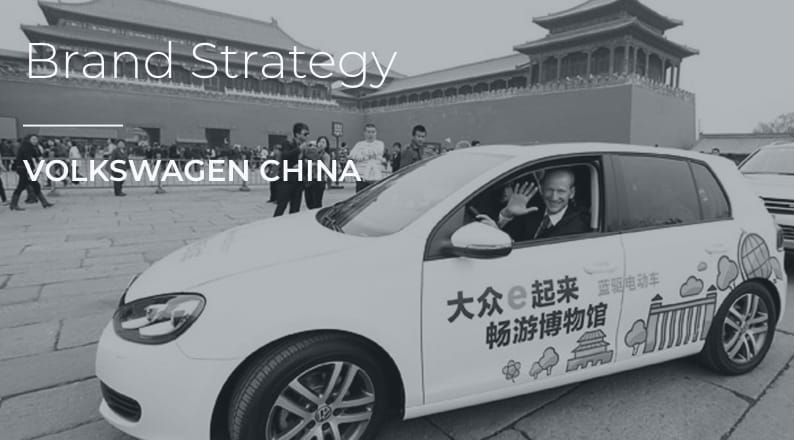 Volkswagen China Brand Strategy
